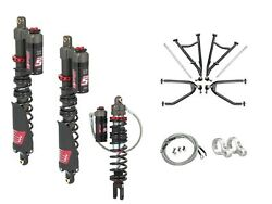 LSR Lone Star DC-4 Long Travel A-Arms Elka Stage 5 Front Rear Shocks Kit KFX450R