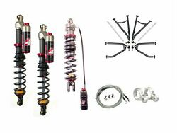 LSR Lone Star DC-4 Long Travel A-Arms Elka Stage 4 Front Rear Shocks KFX400 05+