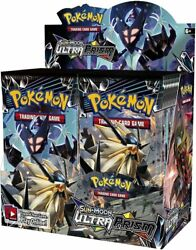 Pokemon Tcg Sun And Moon Ultra Prism 36 Booster Packs [trading Card Game Nintendo]