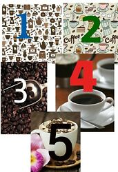 LIGHT SWITCH PLATE COVER Coffee KITCHEN Home Decor Wall Art  5 Options to choose