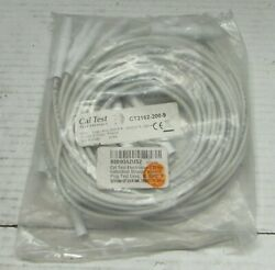 Cal Test Electronics Ct2162 4mm Individual Banana Test Lead White 10 Pack