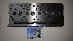 Daedong 4a220-dy Cylinder Head Indirect Injection With 10 Bolt Valve Cover
