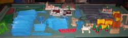 269 Pcs Thomas And Friends The Train Tomy Blue Track Lot Switches Trackmaster