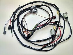 1971 71 Chevelle El Camino Forward Front Light Wiring Harness Gauges 350 400 454