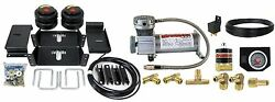 Air Level Helper Spring Kit With In Cab Control 1963-91 Chevy 34