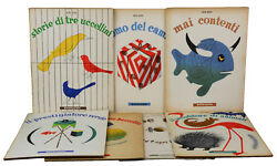 All 7 Animal Books for Children by BRUNO MUNARI ~ First Edition 1945 Book Design