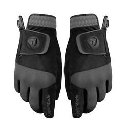 Taylormade Rain Control Gloves - Pair Of Mens Wet Weather Golf Gloves
