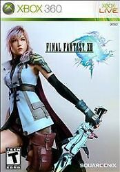Final Fantasy 13 Xbox 360 Role Playing Video Game