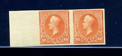 Scott 229p5 Perry Mint Stamp Proof Imperf Pair On Stamp Paper Nh Stock 229-p1