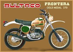 Bultaco Frontera Gold Medal 493 Complete Decals New Full Body Kit 370cc Frontera