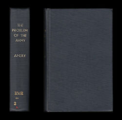 1903 Leo Amery Problem Of The Army Imperial Staff Lessons Of War In South Africa