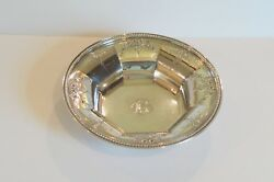 Durgin Fairfax Engraved Sterling Silver 10 Bowl Engraved