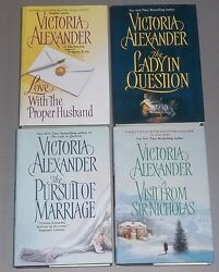 Lot Victoria Alexander Hc Love With The Proper Husband Lady In Question Visit+