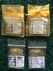 Seed Favors 4 UR Special Event 25 Gold Bags With Shasta Daisy Seeds Poem $9.99