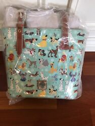 Disney Dooney and Bourke Dogs Tote NWT