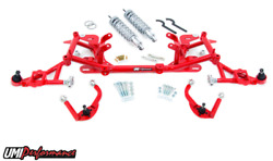 UMI 1998-2002 F-Body LS1 Front End Kit Drag Stage 5 FBS005 RED Mild Steel