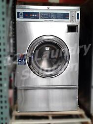Dexter Front Load Stainless Steel Washer Coin Op 20 Lbs S/n Wcn18abss [refurb]