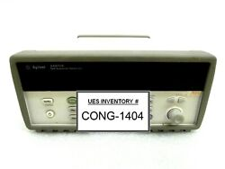 Agilent 34970a Data Acquisition Switch Unit With 34908a 34903a Used Working