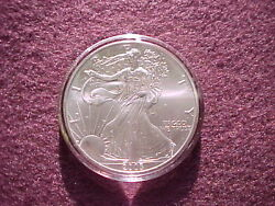 Genuine Air-tite Direct Fit Coin Protectors Fit All 1oz Us Silver Eagle Coins