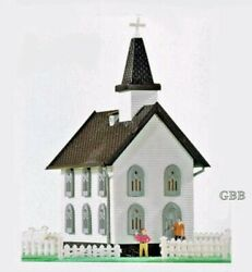 N Scale Country Church Building Kit Model Power New In Sealed Box 1575