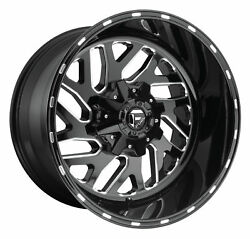 CPP Fuel Off Road D581 Triton wheels 20x12 fits: FORD F250 F350 1998-OLDER 4X4