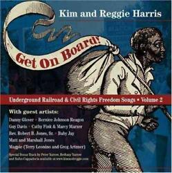 Get On Board Songs Of The Undergroun - Kim Harris Compact Disc Free Shipping
