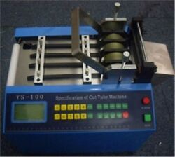 22 Mm Auto Pipe Cutter Pipe Cutting Machine Ys-100h For Heat-shrink Tube Pipe Nb