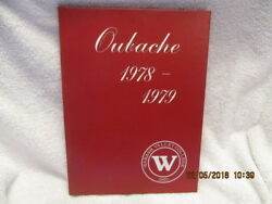 1978-79 Yearbook Wabash Valley College Mount Mt. Carmel Il Oubache Great Photos