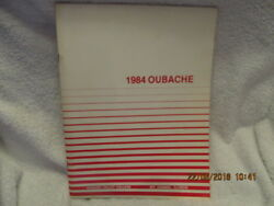 1984 Yearbook Wabash Valley College Mount Mt. Carmel Il Oubache Great Photos