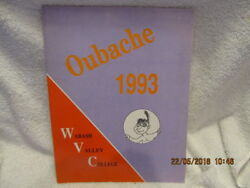 1993 Yearbook Wabash Valley College Mount Mt. Carmel Il Oubache Great Photos