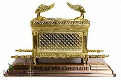 Statue Copper Ark Of The Covenant 7.1 Jewish Testimony Judaica Israel Gift
