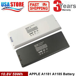 Battery For Apple Macbook 13 A1185 A1181 2006 2007 2008 2009 Ma566 Ma561 Cool