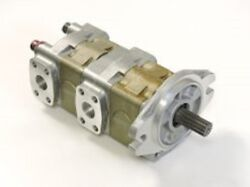 New Caterpillar Hydraulic Gear Pump Fits Cat It14f Loader With 3114 Engine