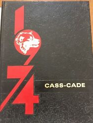 High School Yearbook Central Algoma Secondary School 1973-1974 Thessalon, Ont