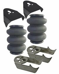 Triple Bellow 2600 Air Bags And Behind The Rear Axle Mounting Brackets Air Ride