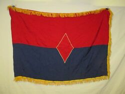 Flag1119 Us United States Army 5th Infantry Division Unit Color 1980and039s W11e