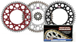 Renthal Ultralight Front And Twinring Rear Sprocket And R1 Chain - Honda Crf450r