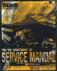 1999-2000 Buell Lightning X1 Motorcycle Service Manual 99490-00y