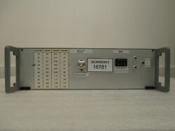Nordiko MAG AMP Rotating Magnet Amplifier Controller 9550 PVD Sputtering Used