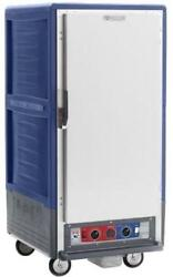 Metro C537-hfs-4-bu 3/4 Height Heated Holding Cabinet W/ Fixed Wire Pan Slides