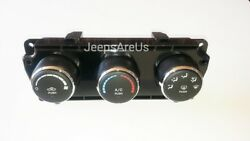 Genuine Mopar Heater And Ac Control Unit 68197433AB