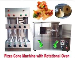 With Rotational Pizza Oven Commercial Pizza Cone Forming Making Machine Maker Bf