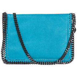 STELLA MCCARTNEY WOMEN'S CROSS-BODY MESSENGER SHOULDER BAG NEW FALABELLA MIN 9A3