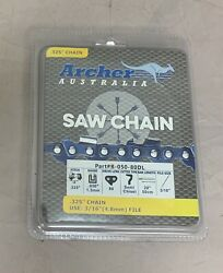 20 Archer Chainsaw Chain Semi Chisel .325 Pitch .050 Gauge 80 Drive Links