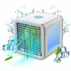 Portable Air Conditioner USB Fan Arctic Personal Space Cooler Home Office Car