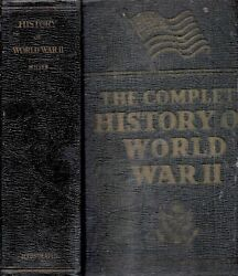 1948 1st Edition World War 2 With Color Prints And Maps Illustrated Military Gif