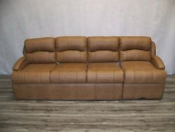 Villa Rv Ultra Leather 100 Couch/sofa With Sleeper Bed And Drawer