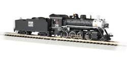 N Scale Bachmann 51351 2-8-0 Consolidation, Western Pacific 35 W/snd/dcc