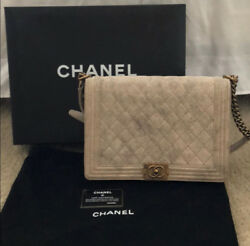 chanel large boy bag