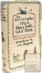Christopher Robin Story Book Signed By Christopher Robin Milne And Ernest Shepard